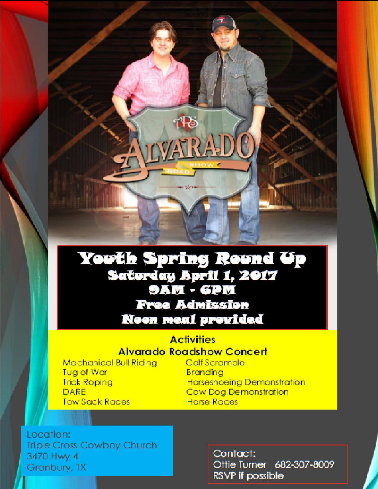 Youth Spring Round Up